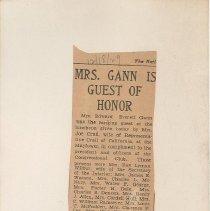 Image of National Woman's Party Congressional Voting Card Collection - 1929.005.002