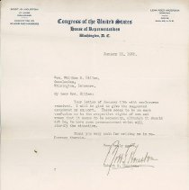 Image of National Woman's Party Congressional Voting Card Collection - 1932.002.001