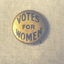 Image of National Woman's Party Button Collection - 2004.002.001
