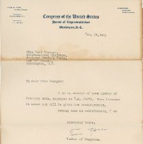 Image of National Woman's Party Congressional Voting Card Collection - 1931.005.001