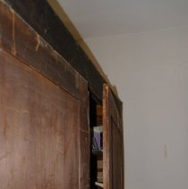 Image of Armoire IV (back detail)