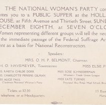 Image of National Woman's Party - 2010.003.011