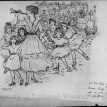 Image of Nina Allender Political Cartoon Collection - 1910.012.001