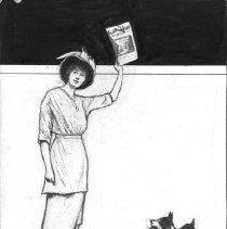 Image of Nina Allender Political Cartoon Collection - 1914.007.003