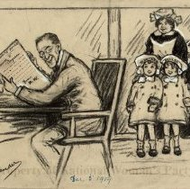 Image of Nina Allender Political Cartoon Collection - 1914.007.008