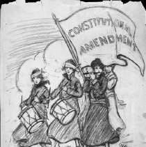 Image of Nina Allender Political Cartoon Collection - 1915.002.003