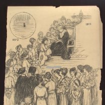 Image of Nina Allender Political Cartoon Collection - 1915.002.004