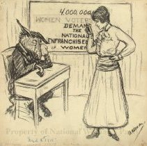 Image of Nina Allender Political Cartoon Collection - 1915.002.005
