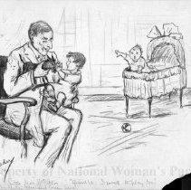 Image of Nina Allender Political Cartoon Collection - 1915.002.013