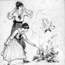 Image of Nina Allender Political Cartoon Collection - 1915.002.014