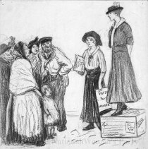 Image of Nina Allender Political Cartoon Collection - 1915.002.015