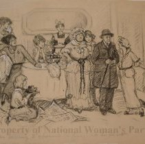 Image of Nina Allender Political Cartoon Collection - 1915.002.018