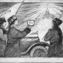 Image of Nina Allender Political Cartoon Collection - 1915.002.021