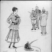 Image of Nina Allender Political Cartoon Collection - 1916.003.001