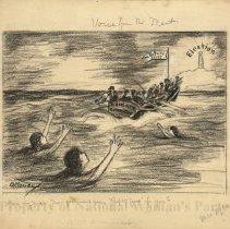 Image of Nina Allender Political Cartoon Collection - 1916.003.006