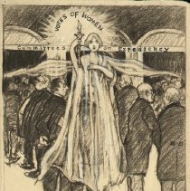 Image of Nina Allender Political Cartoon Collection - 1916.003.007