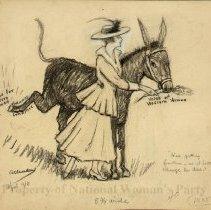 Image of Nina Allender Political Cartoon Collection - 1916.003.011