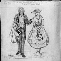 Image of Nina Allender Political Cartoon Collection - 1916.003.013
