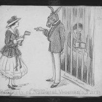 Image of Nina Allender Political Cartoon Collection - 1916.003.016