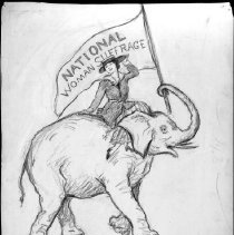 Image of Nina Allender Political Cartoon Collection - 1916.003.019