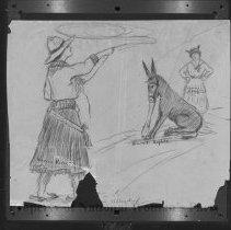 Image of Nina Allender Political Cartoon Collection - 1916.003.021