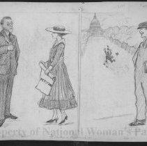 Image of Nina Allender Political Cartoon Collection - 1916.003.022