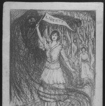 Image of Nina Allender Political Cartoon Collection - 1917.002.001