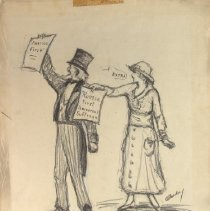 Image of Nina Allender Political Cartoon Collection - 1917.002.002