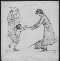 Image of Nina Allender Political Cartoon Collection - 1917.002.003