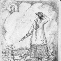 Image of Nina Allender Political Cartoon Collection - 1917.002.004