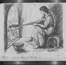 Image of Nina Allender Political Cartoon Collection - 1917.002.005