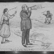 Image of Nina Allender Political Cartoon Collection - 1917.002.006