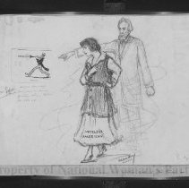 Image of Nina Allender Political Cartoon Collection - 1917.002.009