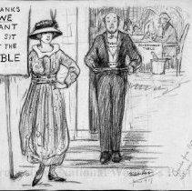 Image of Nina Allender Political Cartoon Collection - 1917.002.010