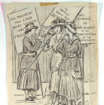 Image of Nina Allender Political Cartoon Collection - 1917.002.011