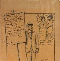 Image of Nina Allender Political Cartoon Collection - 1917.002.013