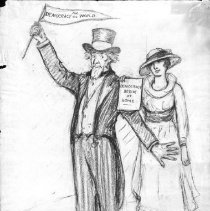 Image of Nina Allender Political Cartoon Collection - 1917.002.014