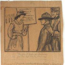 Image of Nina Allender Political Cartoon Collection - 1917.002.016