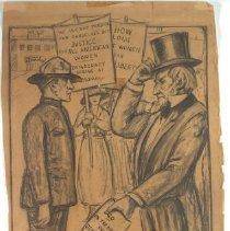 Image of Nina Allender Political Cartoon Collection - 1917.002.017