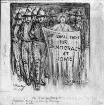 Image of Nina Allender Political Cartoon Collection - 1917.002.020