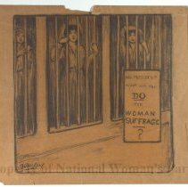 Image of Nina Allender Political Cartoon Collection - 1917.002.022