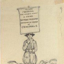 Image of Nina Allender Political Cartoon Collection - 1917.002.023