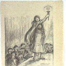 Image of Nina Allender Political Cartoon Collection - 1917.002.024