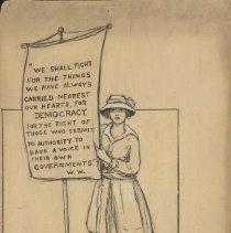 Image of Nina Allender Political Cartoon Collection - 1917.002.025