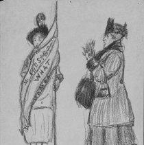 Image of Nina Allender Political Cartoon Collection - 1917.002.026