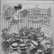 Image of Nina Allender Political Cartoon Collection - 1917.002.027