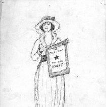 Image of Nina Allender Political Cartoon Collection - 1918.002.026