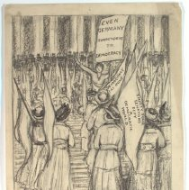 Image of Nina Allender Political Cartoon Collection - 1918.002.027
