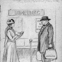 Image of Nina Allender Political Cartoon Collection - 1918.002.028