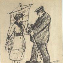 Image of Nina Allender Political Cartoon Collection - 1918.002.029